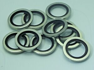Dowty Washer or Bonded Washers BSP / NPT For Pneumatic & Hydraulic 10 Pack