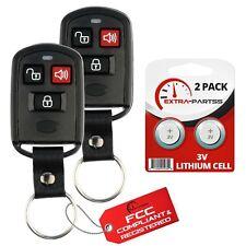 2 For 2003 2004 2005 2006 Hyundai Santa Fe Keyless Entry Remote Car Key Fob