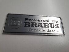 BRABUS Mercedes Badge Complete Spec Badge W210 W204 E55 C63 CLS CLK W202 G55