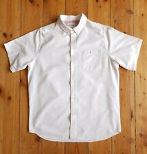 Norse Projects legacy Anton Oxford apc short sleeve shirt engineered white m