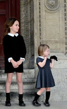 BONPOINT BABY GIRLS DIVA BLACK VELVET DRESS 4 YEARS