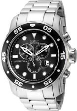 Invicta Pro Diver Men's Quartz Chronograph 300m Stainless Steel Watch 15081