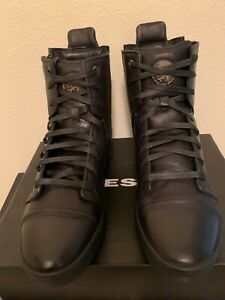 NIB DIESEL MENS S-NENTISH HBD HIGH TOP ZIP AROUND BLACK SNEAKER 8.5,9,9.5,10,12
