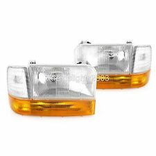 NEWMAR KOUNTRY STAR 1999 2000 2001 SET HEADLIGHTS HEAD LIGHT SIGNAL LAMP 6PC RV