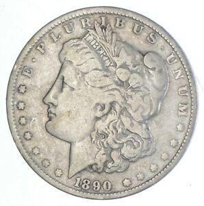 Early 1890-O Morgan Silver Dollar - 90% US Coin *044