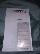 Jamberry Nail Wraps Full Sheet 8U98 Champagne Frost