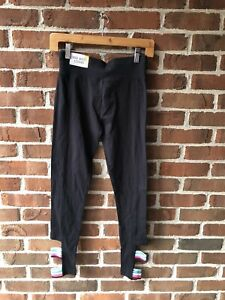 Justice Active Girls Black Pants Size 14-16 Child New