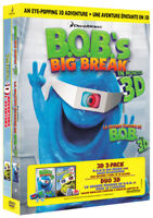 B.O.B. s Big Break 3D / Shrek 3D (3D 2-Pack) ( New DVD