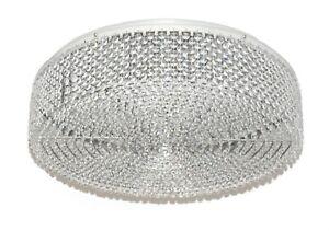 New 60cm Modern Galaxy Round Crystal Pendant Lamp Luxury Diamond Ceiling Light