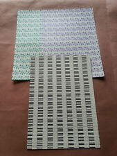 12 Sheets of Craft Backing Paper Approx A4 (6)