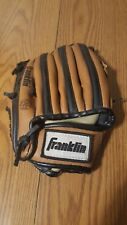 "Franklin Rtp Youth Baseball Mitt 4609-9 1/2""-Leather Laced Hand Formed Pocket"