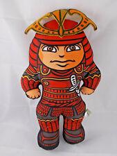 "Charlie Zabarte Samurai Plush Doll 15"" by Linda McDonald"