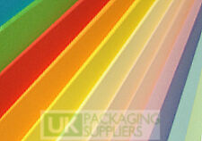5 Sheets Of 160gsm A4 Size SALMON PINK Thick Paper Card Printer Pages NEW