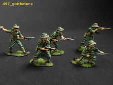 Airfix plastic 1/32 painted Australian/ Anzac infantry. professionally painted.