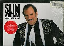 SLIM WHITMAN -SONGS I LOVE TO SING:I RENMEMBER YOU, VINYL LP 33 1/3 RPM
