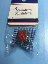 Dollhouse Miniature Strawberries
