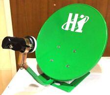 36cm. Portable Satellite Dish Set for Travel, Apartment, House Freesat for camp