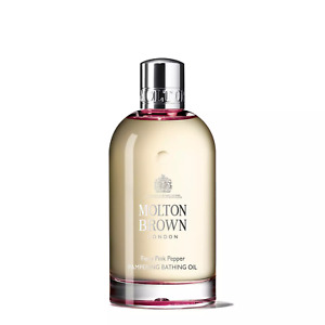 Molton Brown Fiery Pink Pepper Pampering Bathing Oil argan delicately spiced NEW