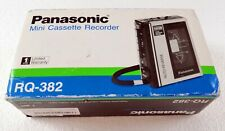Panasonic Mini Cassette Recorder RQ-382