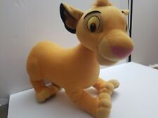 2002 Hasbro Disney Lion King Simba Plush Toy Stuff Lion