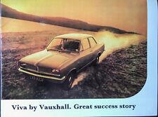 Vauxhall Viva Sales Brochure