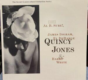 "QUINCY JONES BARRY WHITE AL B SURE JAMES INGRAM THE SECRET GARDEN 12"" DJ PROMO"