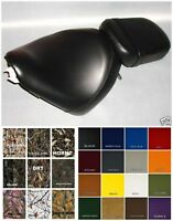 HONDA VT600 Seat Cover Shadow VLX600 99-UP  in 25 COLORS & PATTERNS   (ST/PS)