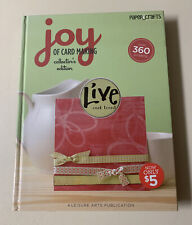 The Joy of Card Making by Leisure Arts Staff (2008, Hardcover, Collector's)