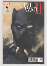 Civil War II #5 Noto Black Panther variant Iron Man Captain Marvel Inhumans 9.6