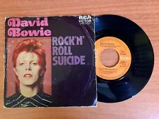 "David Bowie - Rock'N'Roll Suicide - 7"" France VG / G"