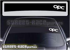 SS1004 Vauxhall Opel OPC sun strip graphics stickers decals sunstrip Astra Corsa