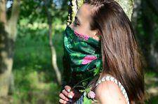 New Woman Neck Gaiter Scarf Face Mask Balaclava Shamrock, Clover