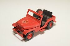 1:43 MINIMAC BRAZIL A1 JEEP FORD 4X4 WILLY'S FIRE CAR NEAR MINT CONDITION