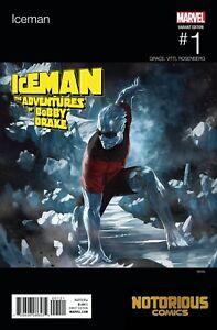 SEPT 2018 MARVEL X-MEN COMIC BOOK 3.99 BOBBY DRAKE MUTANT HUNT OF 5 ICEMAN #1