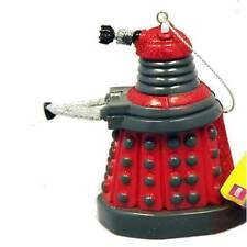 "Doctor WHO Lic 4.5"" Red Resin DALEK Drone Holiday ORNAMENT Kurt Adler Christmas"