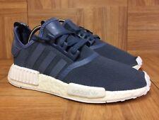 d79d65b0d RARE🔥 Adidas Originals NMD R1 Women s Running Shoes Sz 8 S76005 Blue Tech  Ink