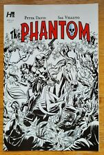 The Phantom #1 by Hermes Press, Variant cover 1G, black and white, Alex Saviuk