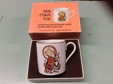 Vintage 1975 Berta Hummel Schmid Bros. Child's Baby Cup Mug West Germany in Box