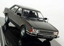 Ixo 1/43 Scale - Ford Granada MK2 2.8 GL 1982 Metallic Grey Diecast model Car