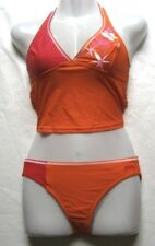 arena Mädchen Damen Bikini Tankini Leponial Gr 36 Mango Red chlorbeständig