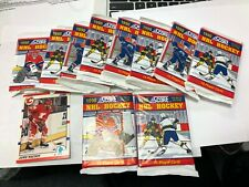 1990 Score NHL 10 Unopened Packs Of Hockey Cards and 1 Free Bonus card
