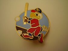 Olympics Collectible Sam the Eagle at Home Plate with Baseball Bat and Baseball