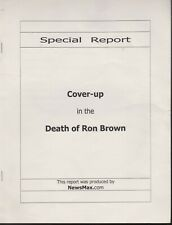 Death of US Secretary of Commerce Ron Brown NEWSMAX REPORT