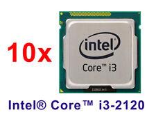 10 x Intel Core i3-2120 (SR05Y) Dual-Core 3.3GHz/3M Socket LGA1155 Processor CPU
