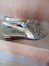 Gold Sandals  size 8