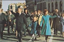 Jimmy Carter,  Rosalynn and Amy  Inaugural Walk   # C7