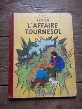 """TINTIN"""" l'affaire Tournesol """"1956  B20 Edition originale française"""