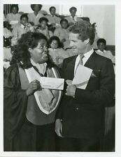 BEN MURPHY MABEL KING SMILING PORTRAIT LOTTERY! ORIGINAL 1983 ABC TV PHOTO