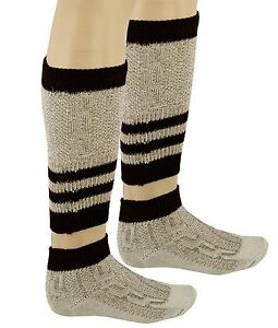 Bavarian 2 Piece OKTOBERFEST / CAUSAL Lederhosen Socks Pairs