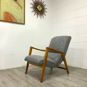 G Plan E Gomme Siesta Lounge Chair Model 411 lounge Armchair by Victor Wilkins 1